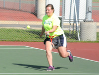 Trinity senior shows versatility in tennis, bowling