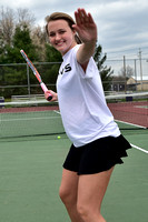 Senior finds new role at No. 1 singles