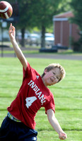 Football camp ends with competition, scrimmage