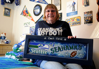 Local Seahawks fan excited for Sunday