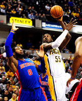 Pacers drop first at home; George slumps again in loss