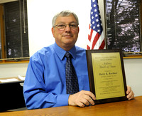 Brave face - Rochner recognized for years of support