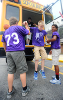 Riding smart - Seymour schools promote bus safety