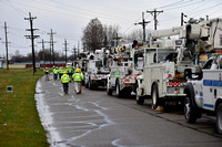 Crews work to restore electricity to residents