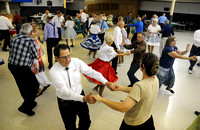 Square dancing a calling for Seymour couple
