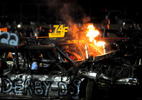 Veterans, newcomers on collision course at demolition derby