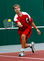 Despite multiple sports, Braves senior sets Brownstown???s top boys tennis mark
