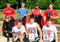 Brownstown track team honors standouts at annual awards banquet