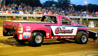 Local residents make truck pulls family affair