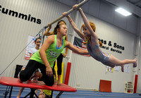 Seymour center conducts gymnastics camp to teach basics