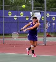 Tennis sweeps Madison in tournament opener