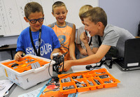 LEGO camp teaching youth about technology