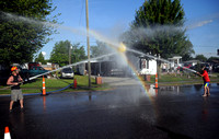 Fire department brings back waterball contest