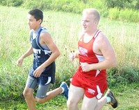 Cougar runners make up ground at invitational: Girls third; Tigers, Hornets also compete at Salem; Owls second at East