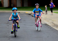 Kids experience triumph, cheers during triathlon