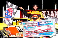 Driver gets big payoff with Brownstown Speedway win