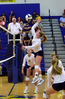 Trinity Lutheran volleyballs takes all 3 sets