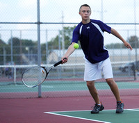 Eagles soar over Owls in boys tennis sectional