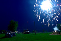 City celebrates holiday with music, fireworks
