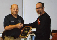 Crew captain given firefighter award