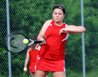 Brownstown Central tennis earns 6th in conference