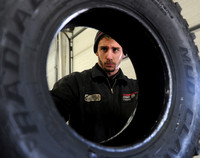 Tire shops see boost in business from bad roads