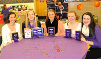 Seymour girls basketball players recognized