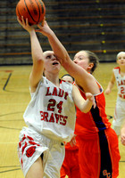 Brownstown Central girls notch conference win