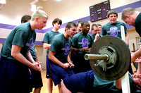 Community rallies behind Seymour football players at spring event