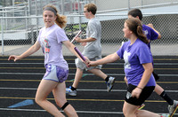 Students get their kicks, runs, jumps, throws in at Seymour track camp