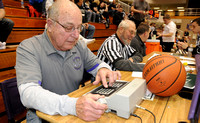 Scoreboard operator honored for 50 years of service