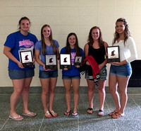 Track team recognized at year-end celebration