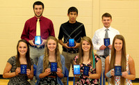 Trinity track stars receive recognition