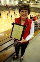 Former volleyball leader inducted into athletic hall of fame
