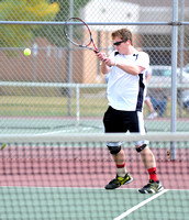Owls, Braves to face off for boys tennis sectional title