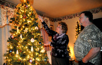 Seymour family puts yuletide collection on display