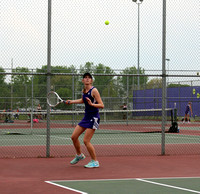 Seymour tennis blanks Jennings