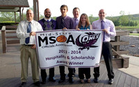 Owls honored for hospitality, sportsmanship
