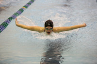 Bull Frogs outpace Seymour swimmers