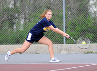 Trinity senior holds down No. 1 singles