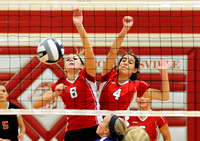 Warriorettes defeat Tigers in three sets